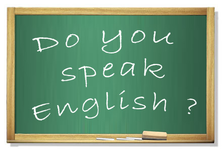 výuka angličtiny - tabule